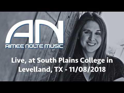 Aimee Nolte Live At South Plains College