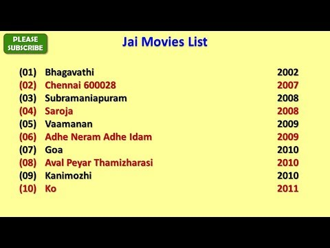 Jai Movies List