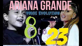 Ariana Grande Singing from (2001-2017)