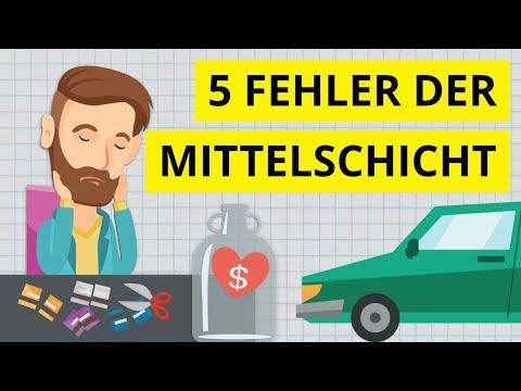 5 Finanzfehler der Mittelschicht mit denen man sich die Zukunft verbaut!
