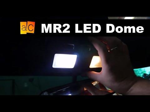 Mr2 Led Dome Light Install Youtube