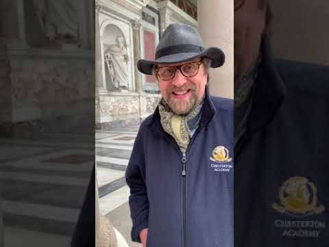 Dale Ahlquist Greetings from Rome 3/20/19