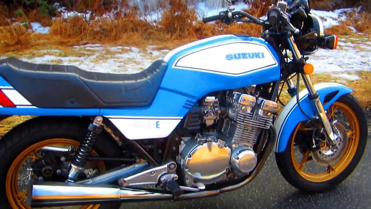 SUZUKI GS1100E THE RIDE THAT KILLED BATTERY
