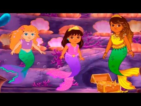 DORA THE EXPLORER - Dora's Magical Mermaid Adventure Movie Game | Dora and Friends | Dora Game