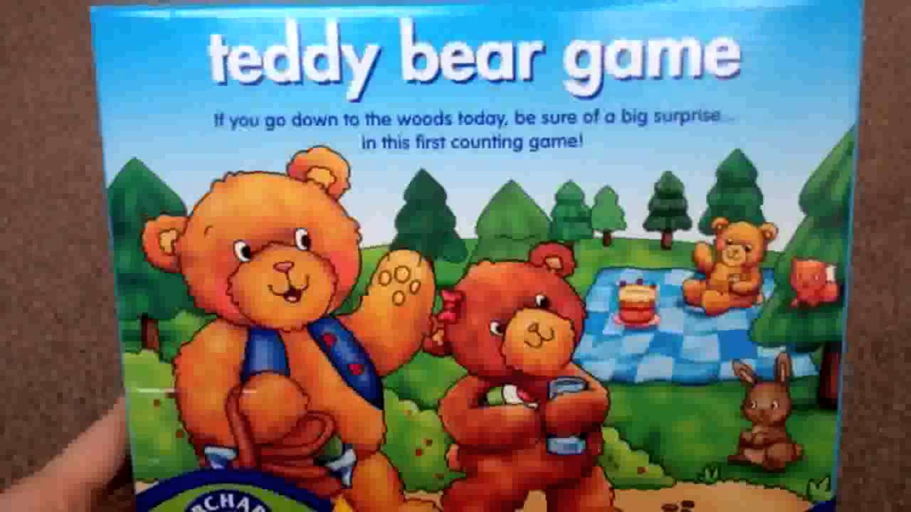 Orchard Toys Teddy Bear Game Review - YouTube