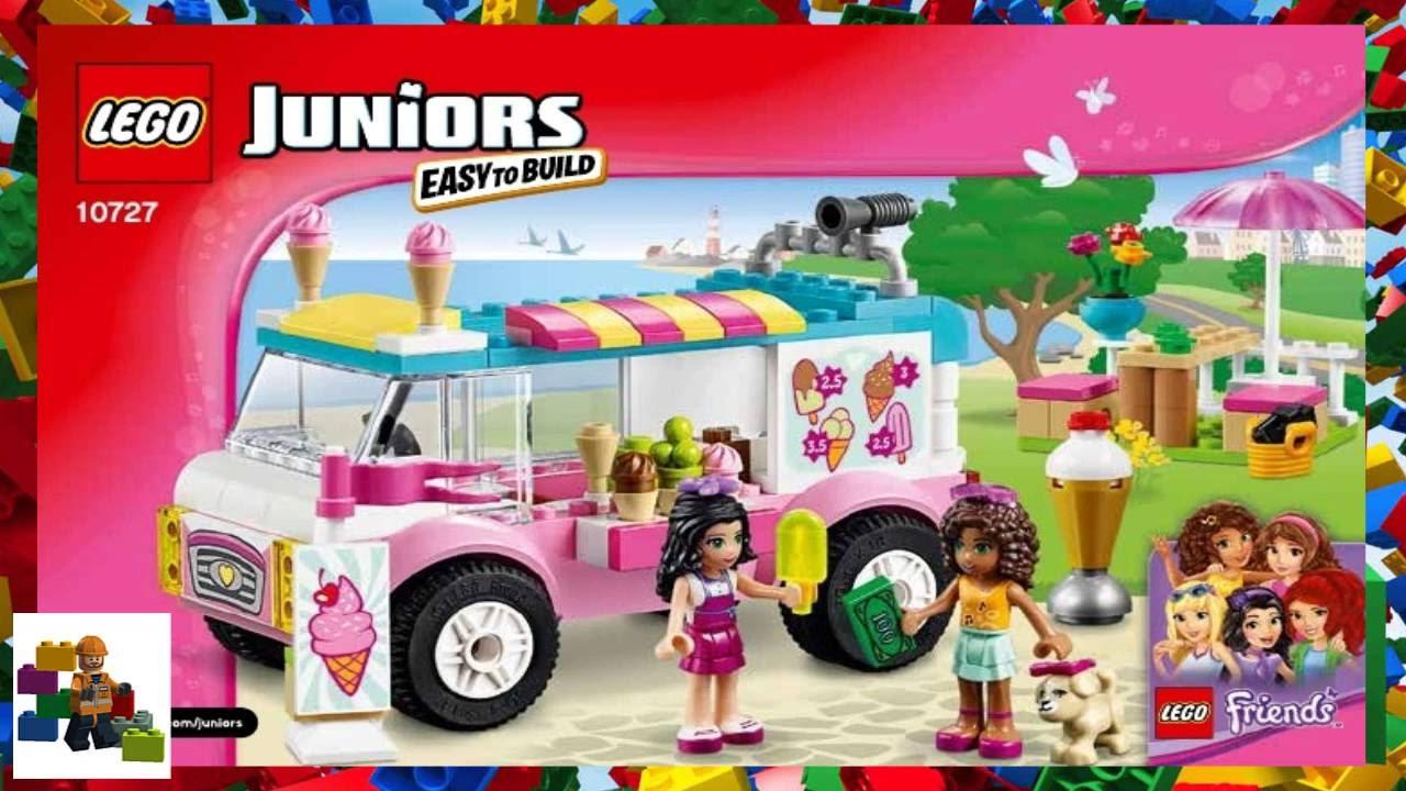 Lego Instructions Juniors 10727 Emmas Ice Cream Truck Youtube