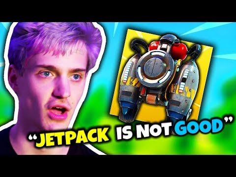 NINJA EXPLAINS WHY THE JETPACK IS NOT THAT GOOD | Fortnite Daily Funny Moments Ep.76