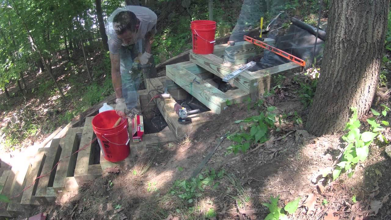 Pdf Plans How To Build Wood Steps Up A Hill Download