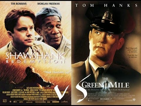 shawshank redemption and the green mile movie comparison