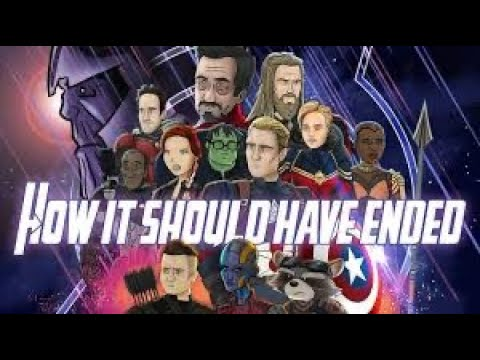 How Avengers Endgame Should Have Ended-Reaction