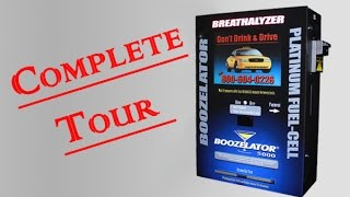 Boozelator® 5000 Smart Breathalyzer Vending Machine