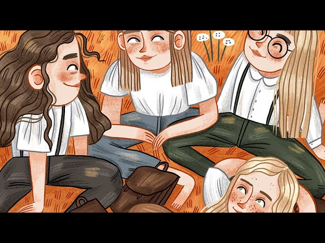 Us ~ procreate illustration coloring process time lapse ~by iz ptica