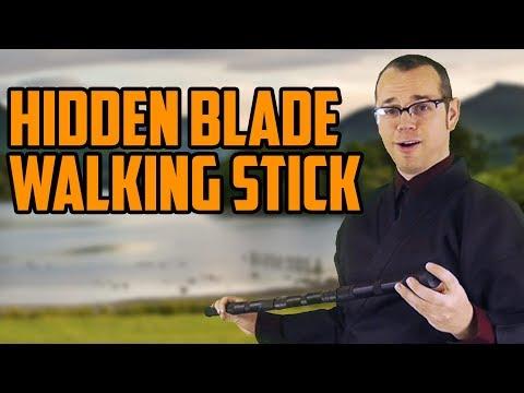 This Walking Stick has a Surprising Secret