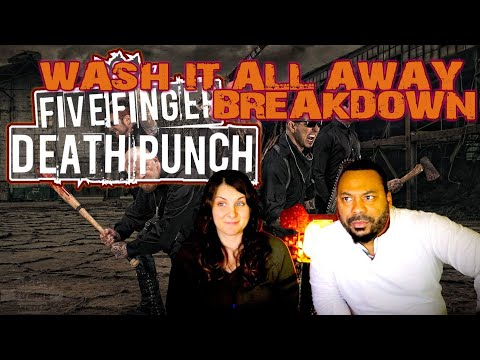 FIVE FINGER DEATH PUNCH Wash It All Away Reaction!!!