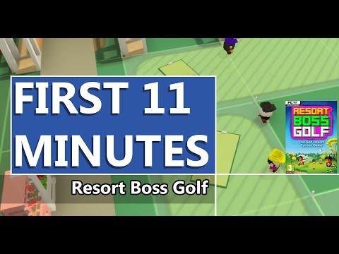 FIRST LOOK | Resort Boss Golf Management Tycoon Golf Game | HD GAMEPLAY |