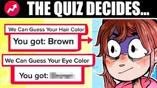 BUZZFEED QUIZZES DESIGN MY CHARACTER [Using Quiz Results to Pick EVERYTHING]