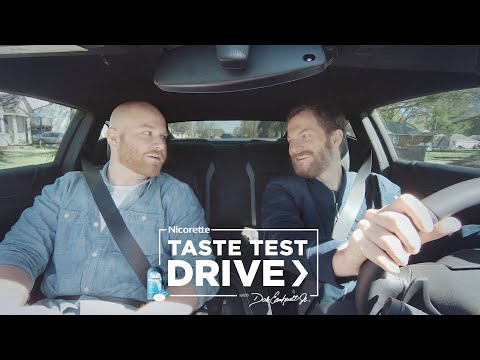 Coated Ice Mint Lozenge Taste Test Drive with Dale Earnhardt Jr. | Nicorette