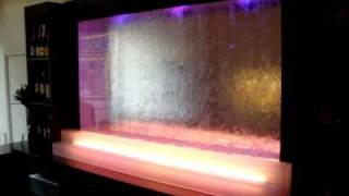 H2o Designs Water Wall Back Bar Exeter
