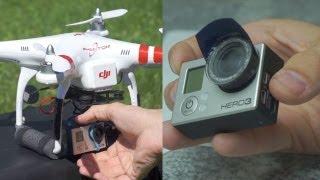 DIY GoPro Hero ND filter - Anti Jello / Artifact Fix