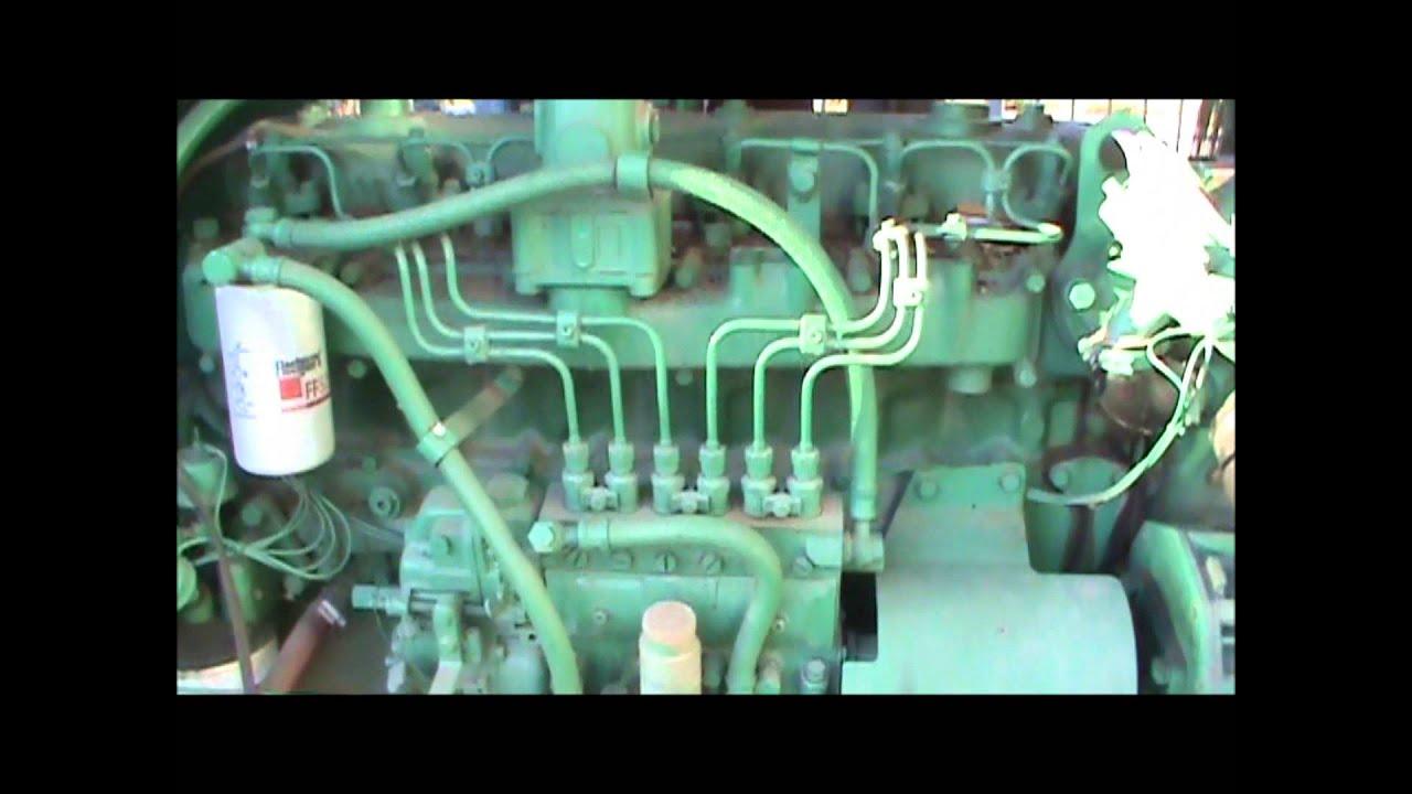 Komatsu 671t 125kw 480v Enclosed Diesel Generator Set