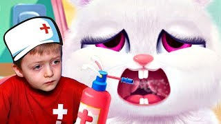 Маленький Доктор для Животных #2 Игра для Детей Lion Boy