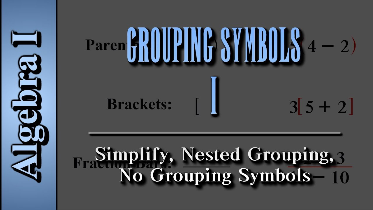 Algebra i grouping symbols level 1 of 2 simplify nested algebra i grouping symbols level 1 of 2 simplify nested grouping no grouping symbols biocorpaavc Choice Image