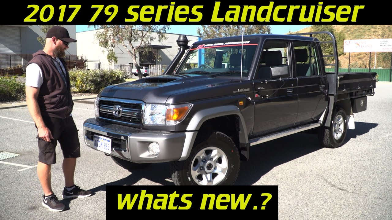 2017 Landcruiser 70 Series Whats New Youtube