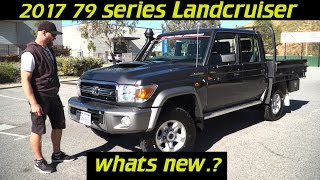 2017 Landcruiser 70 series, Whats new?