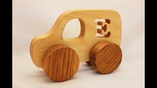 Изготовление деревянной машинки для малыша