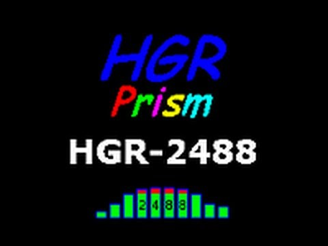 Demo of the HGR2488 Prism VGA Monitor Interface for the TASCAM 2488