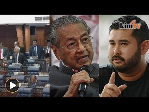 Dewan rakyat tegang!, Dr M - TMJ 'tidak sependapat', Najib ditahan SPRM