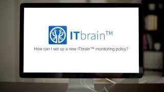 how can i set up an itbrain policy