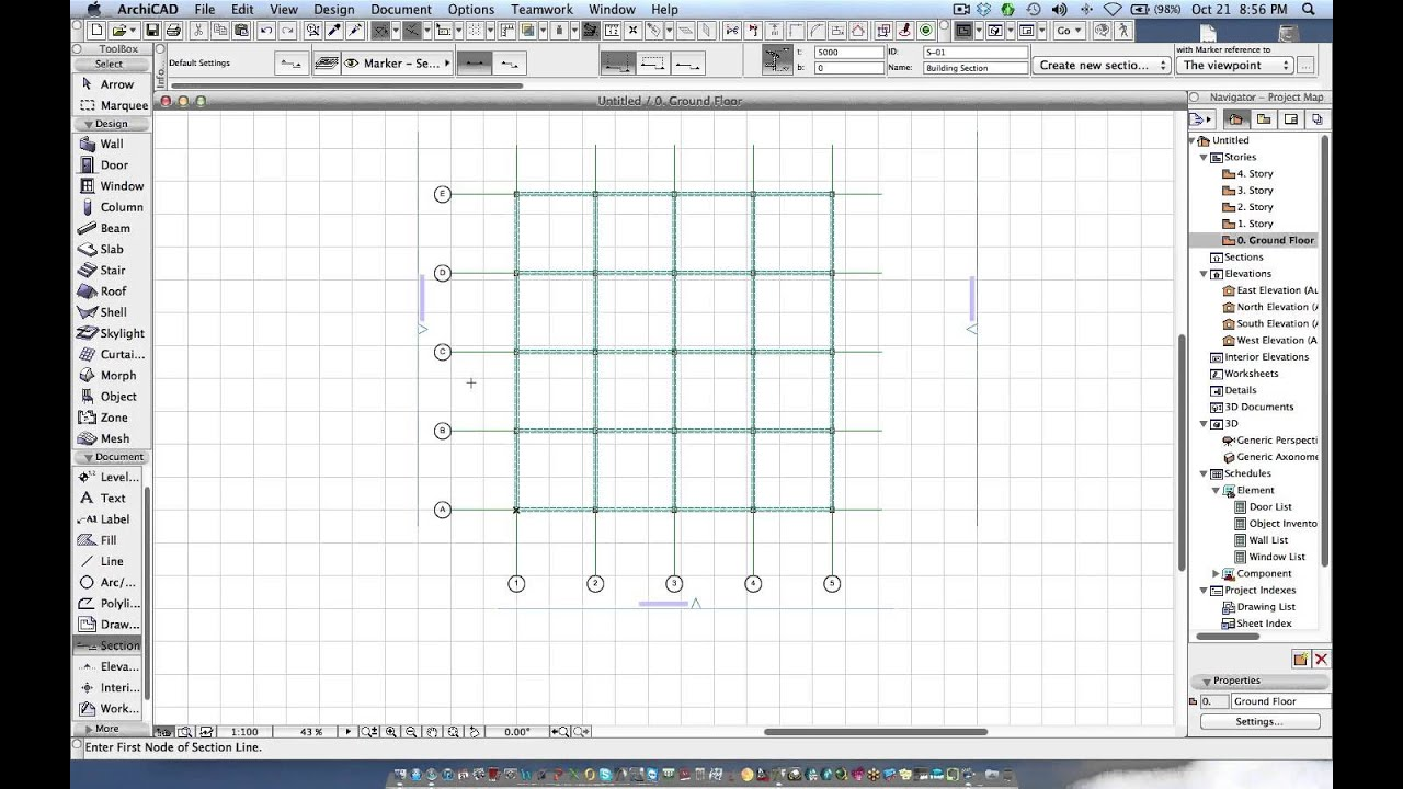 how to set elevation constraints archicad