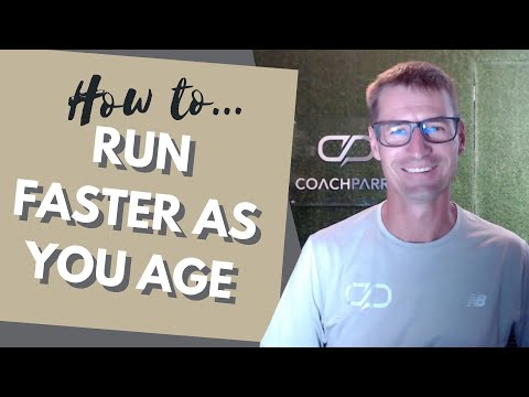 How To Run Fast As You Get Older: Don't Let Age Slow Your Running Down