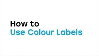 How to Use Color Labels in the Web App video thumbnail