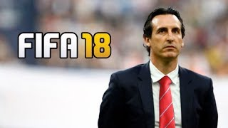 UNAI EMERY ARSENAL COMPLETE PLAY THROUGH!! FIFA 18 CAREER MODE