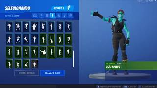Seeing a fortnite account with rare skins (Renegade raider, Zombie, Ikonik, etc...)