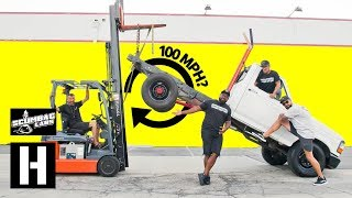 Forklift Holeshot: Does A 100mph Drop Make You Faster??