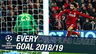 Every Champions League goal 2018/19 | 24 strikes from PSG to Tottenham in Madrid