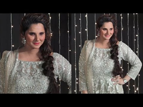 Sania Mirza First Appearance After Pregnancy At Priyanka Chopra Wedding Reception