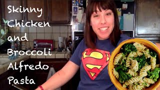 Diy: Skinny Chicken And Broccoli Alfredo Pasta