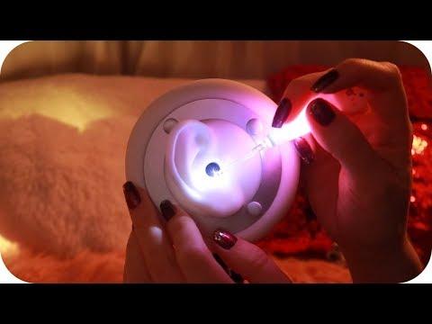 ASMR Annual Ear Cleaning w/LED Light 💛 Ear Massage