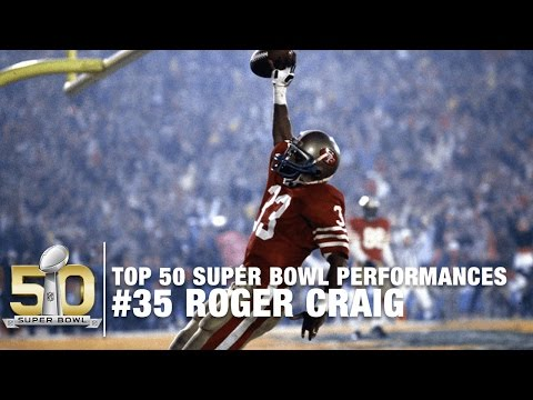 #35: Roger Craig Super Bowl XIX Highlights | Top 50 Super Bowl Performances