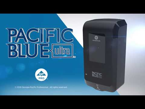 Pacific Blue Ultra™ Automated Soap and Sanitizer Dispenser- Loading Instructions