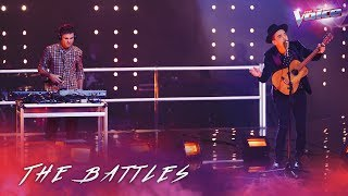 The Battles: Sam Perry v AP D'Antonio 'Sympathy For The Devil' | The Voice Australia 2018