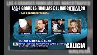 Las 4 grandes familias del narcotrafico gallego - Aduanas SVA