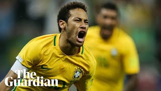 Brazil become first nation to qualify for 2018 world cup – video