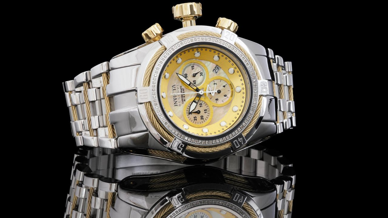 Invicta 15456 Bolt Zeus With Diamond Bezel
