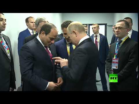 ربطات عنق متشابهة بين بوتين والسيسي  - نشر قبل 3 ساعة
