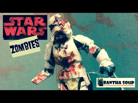 Star Wars Zombie Action Figures